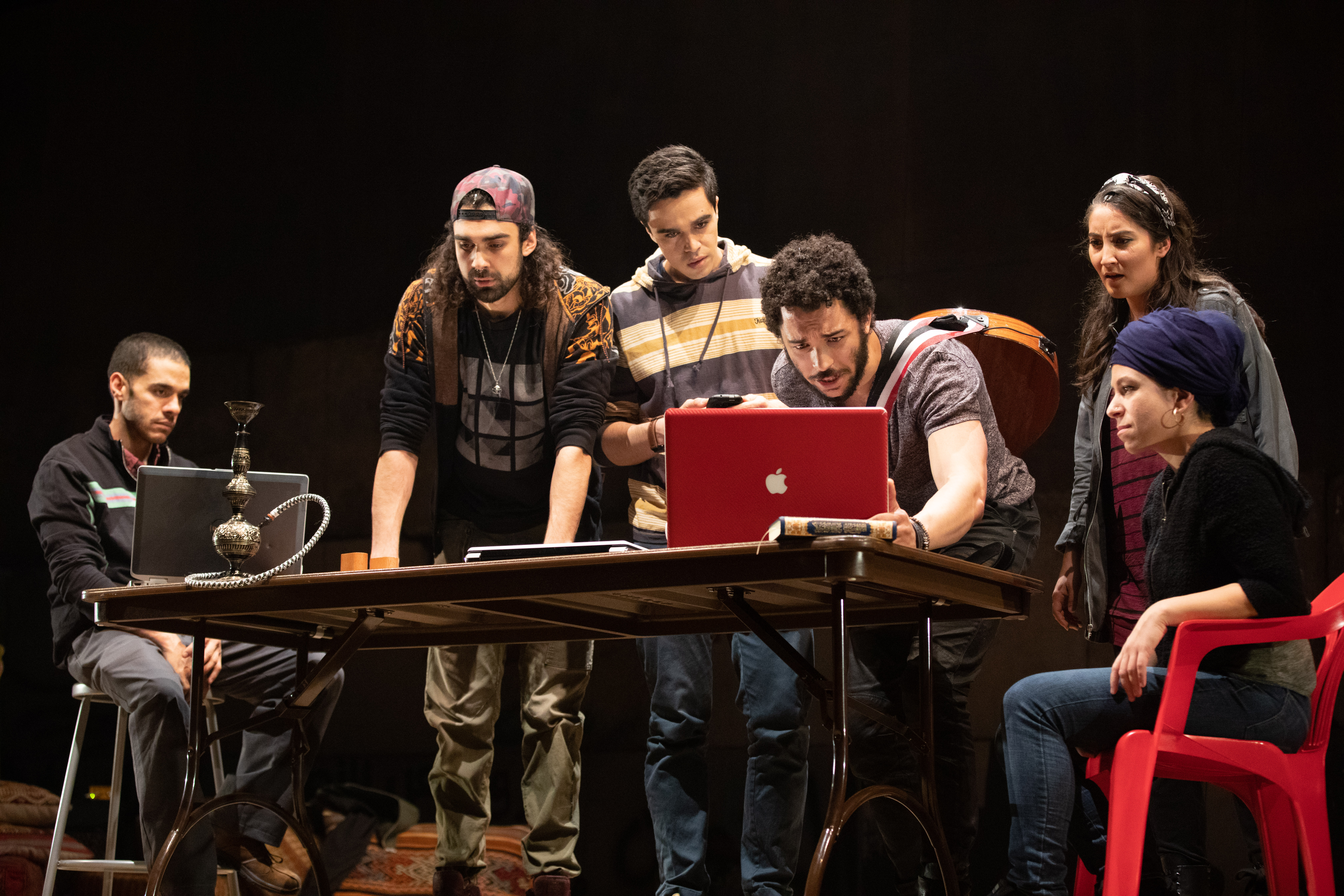 The cast of We Live in Cairo.