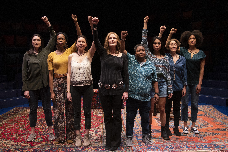 The cast of Gloria: A Life.
