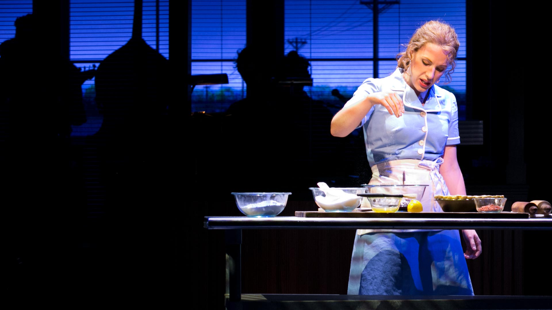 Jessie Mueller in Waitress.