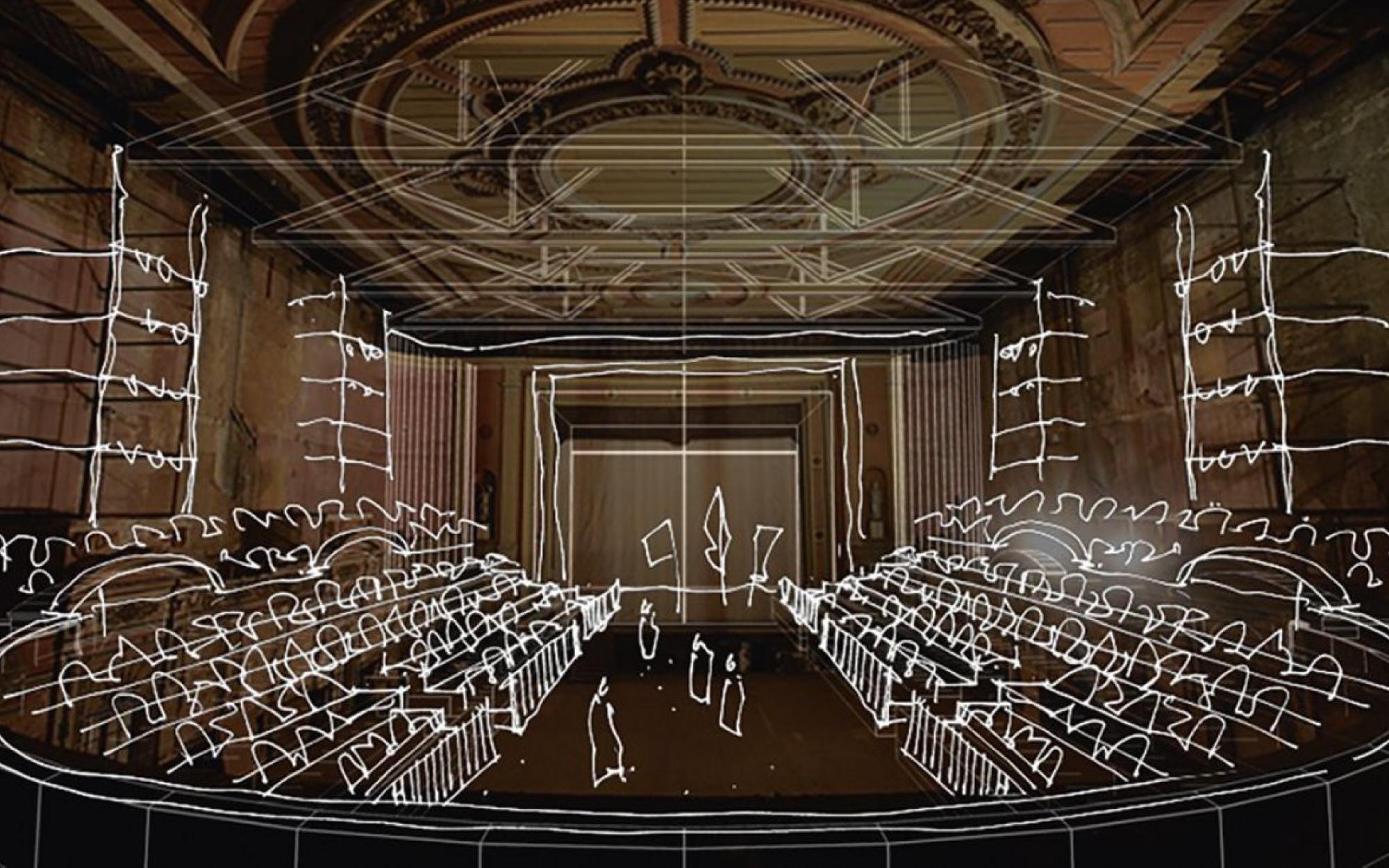Virtual theater tour